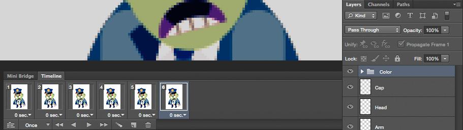Animating sprites 3