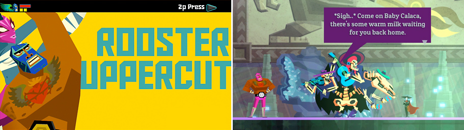Typography Guacamelee